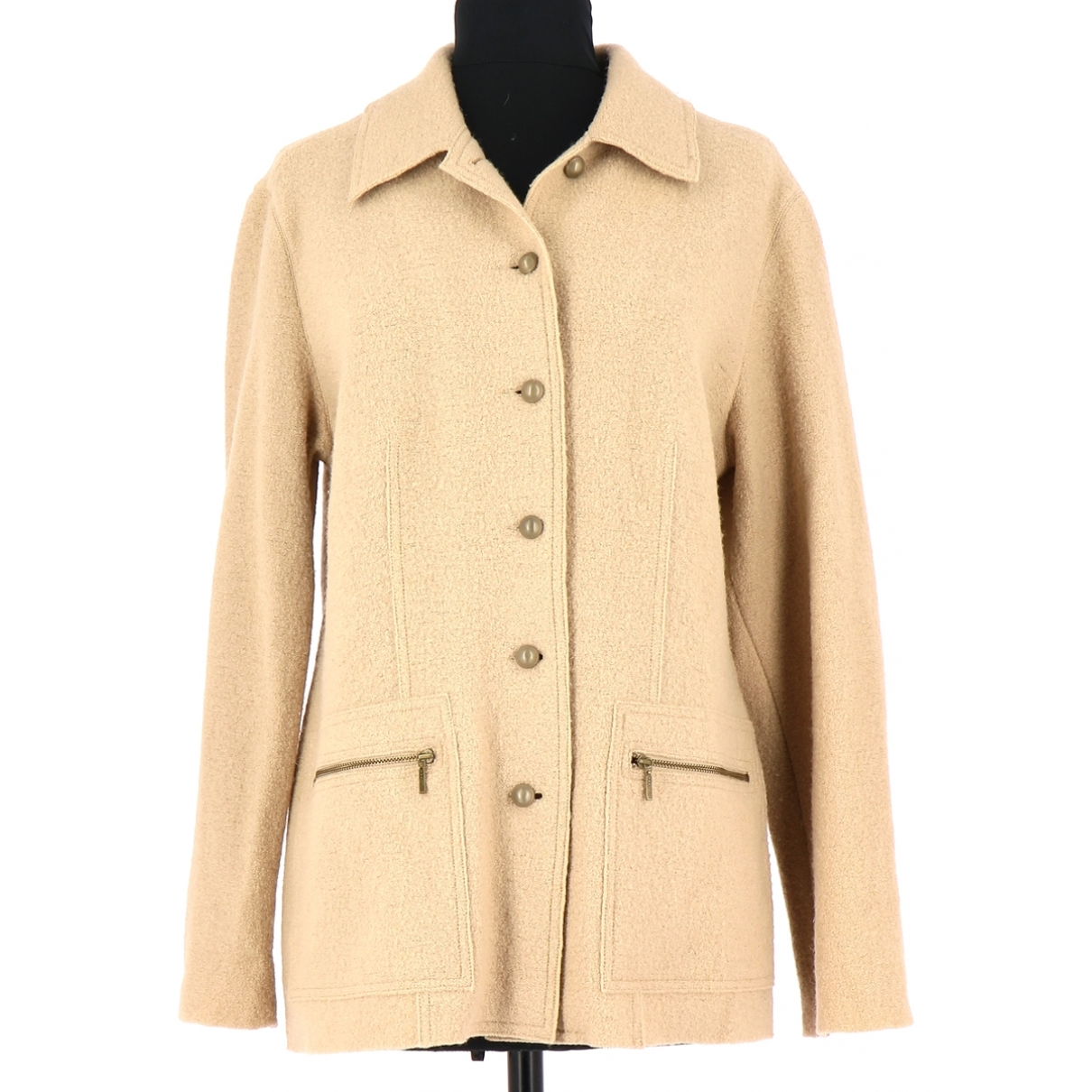 Gerard Darel \N Beige Wool jacket for Women 38 FR