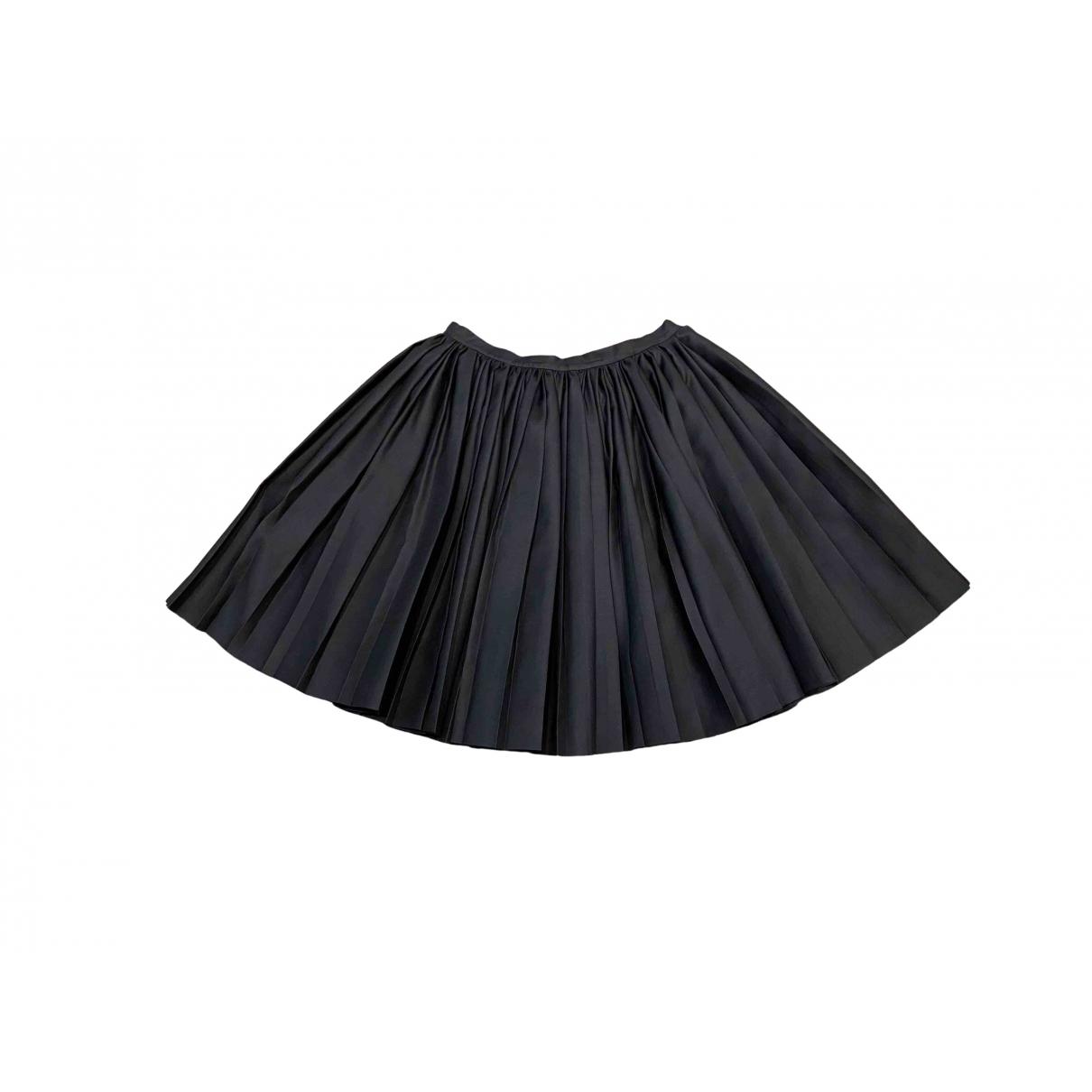 Dior \N Rocke in  Schwarz Wolle