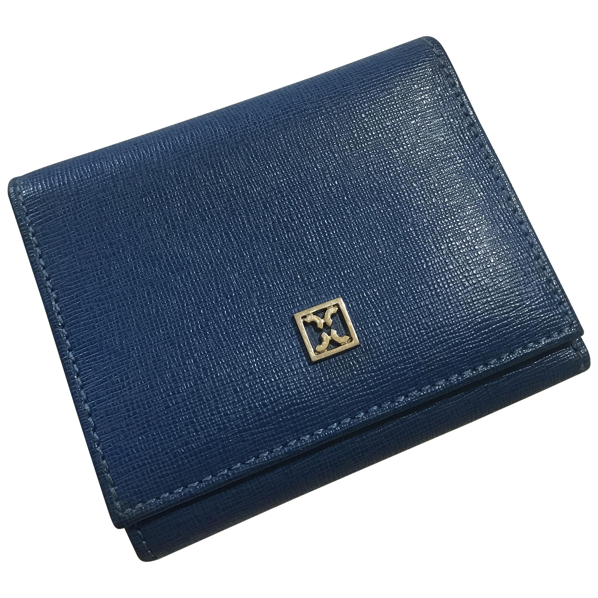 Coccinelle \N Blue Leather wallet for Women \N