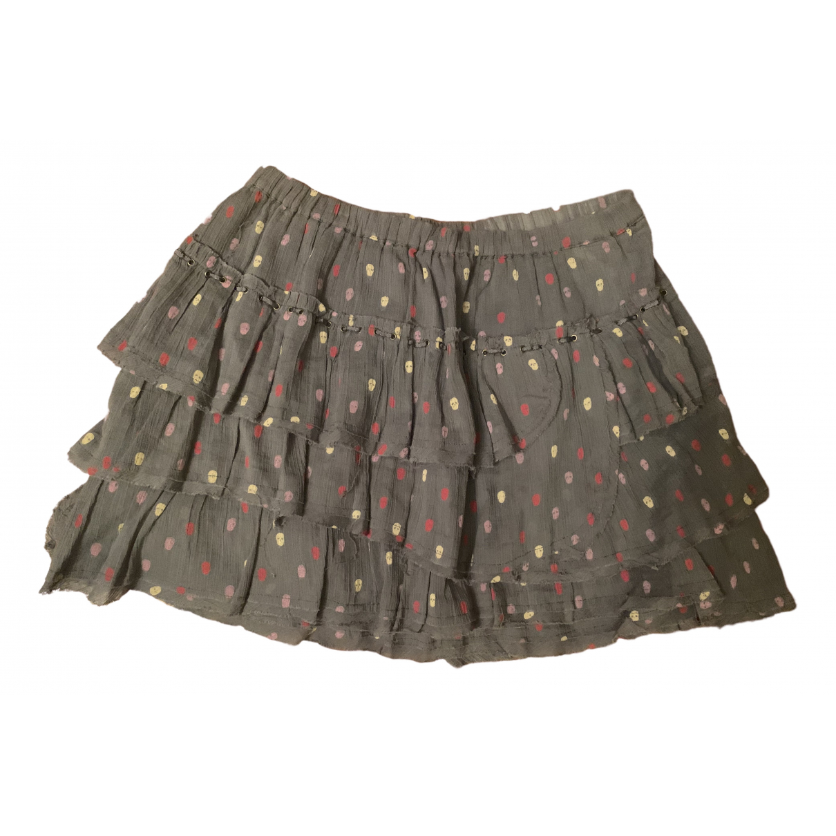 Zadig & Voltaire \N Grey Cotton skirt for Women XS International
