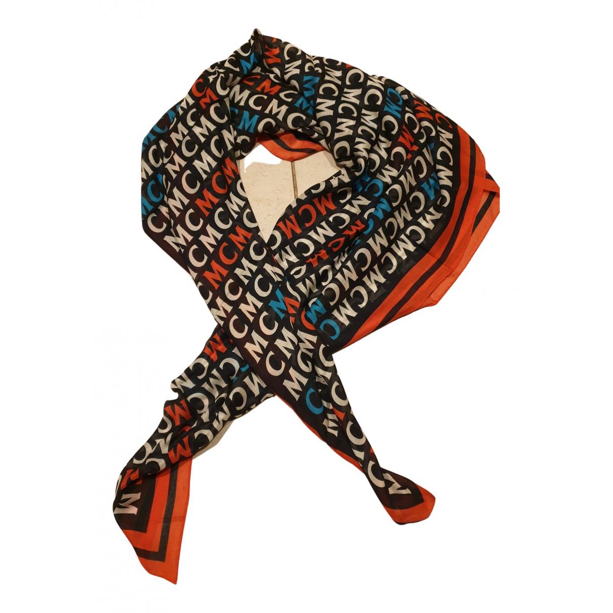 Mcm - Foulard   pour femme en coton - multicolore