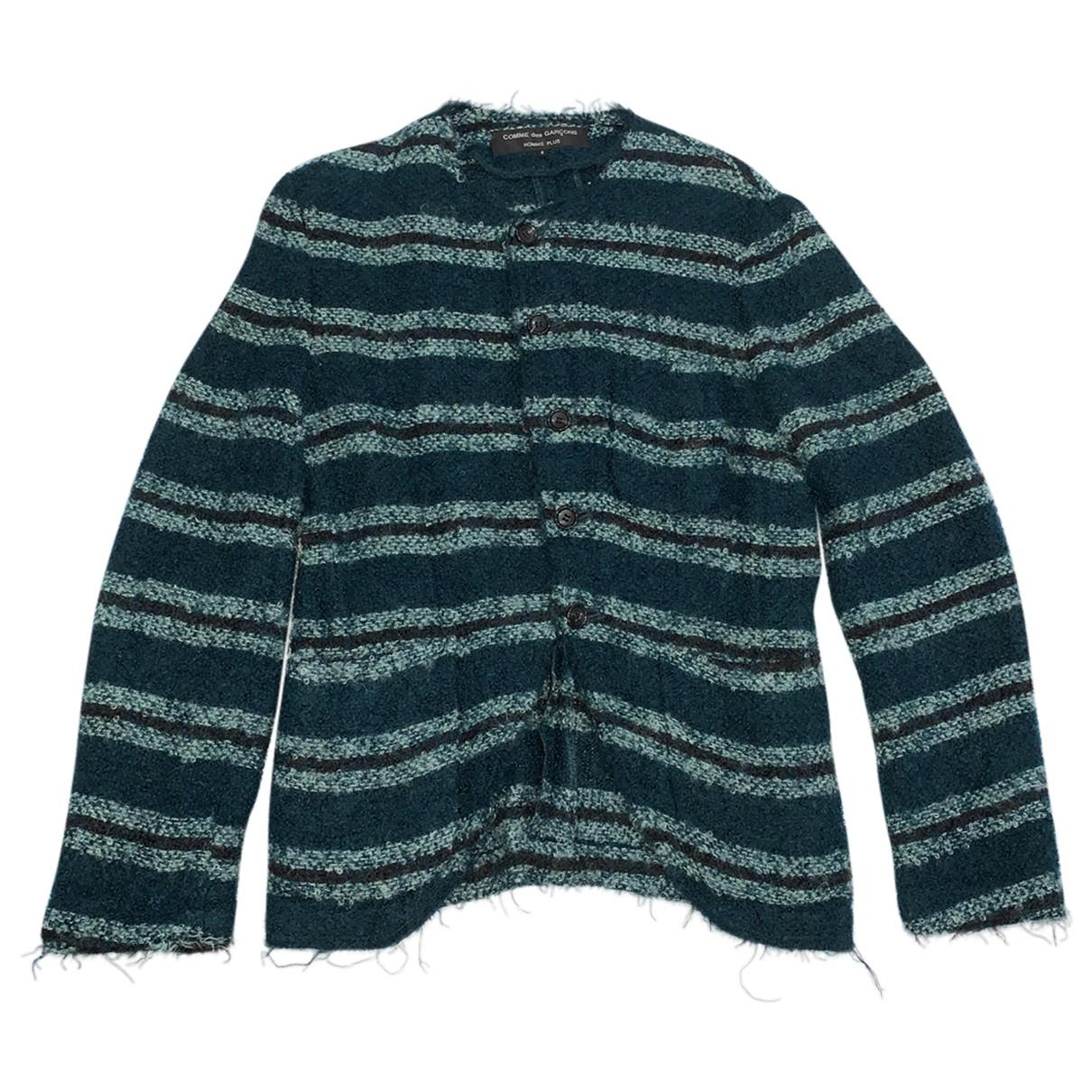 Comme Des Garcons \N Green Tweed jacket  for Men S International