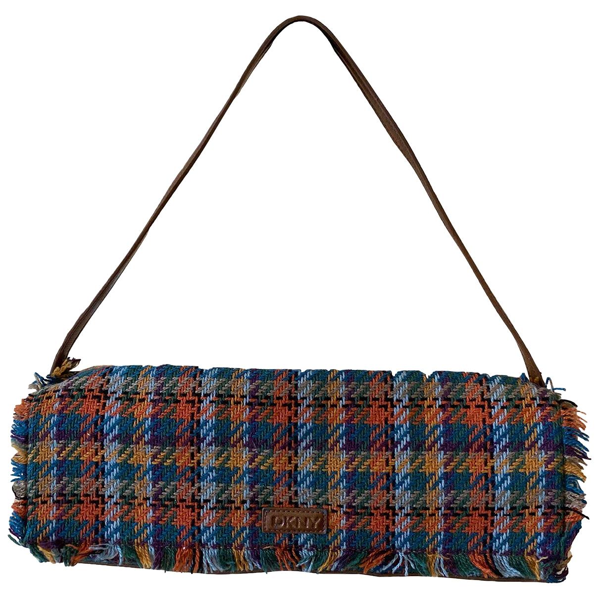Dkny \N Handtasche in  Bunt Tweed