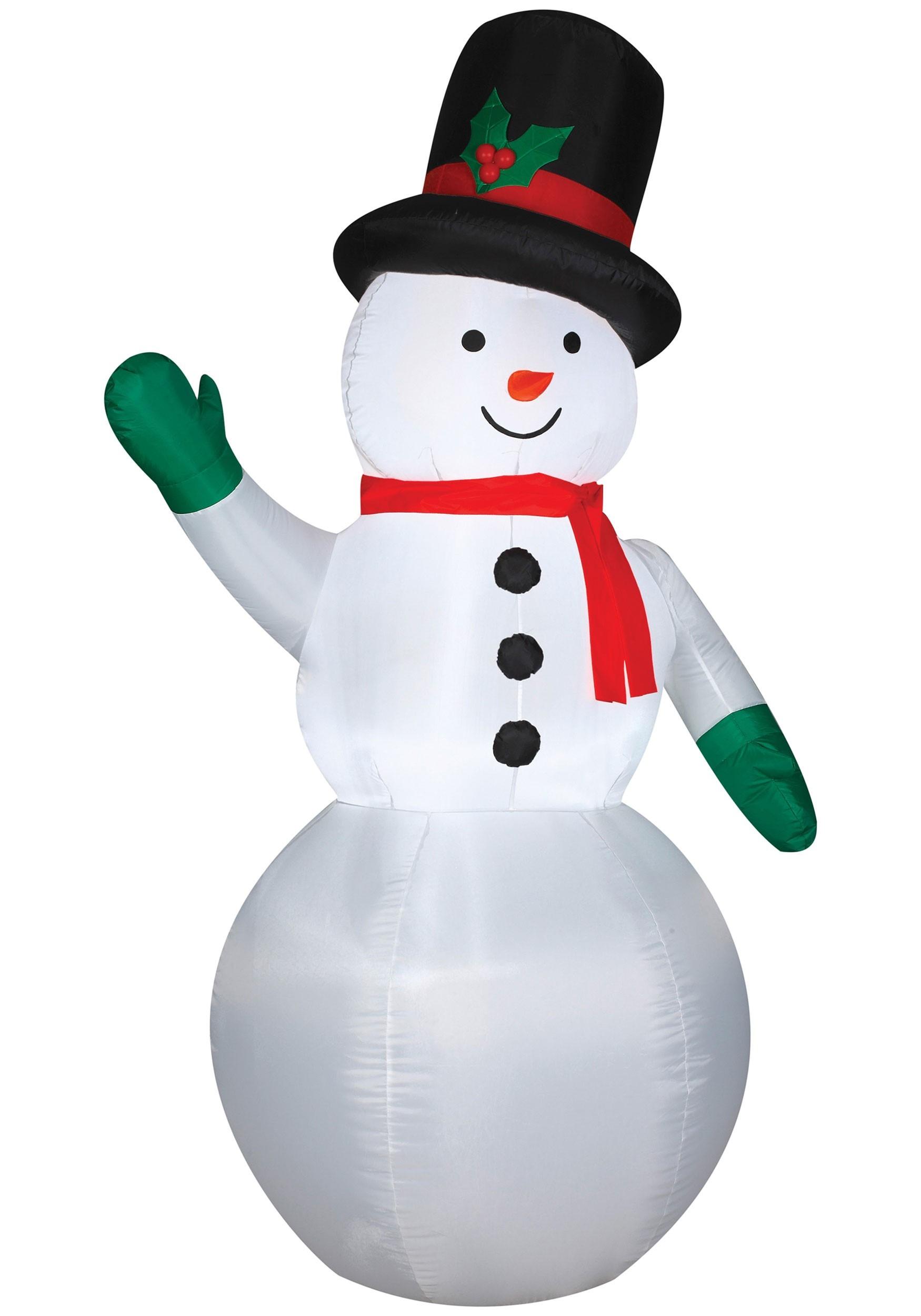 Snowman Inflatable Decoration