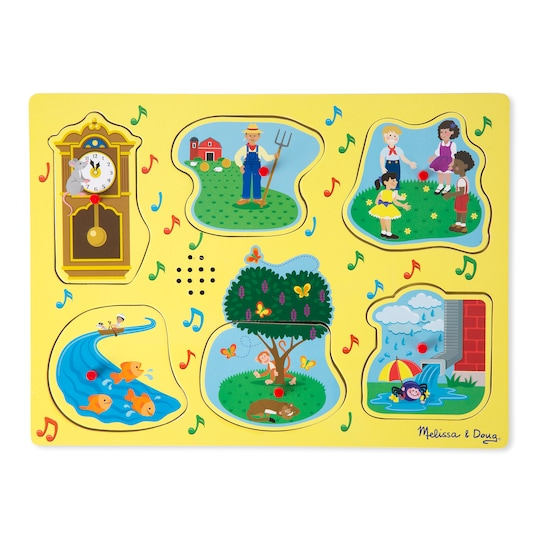 Melissa & Doug Sing-Along Nursery Rhymes 1 Sound Puzzle | Michaels®