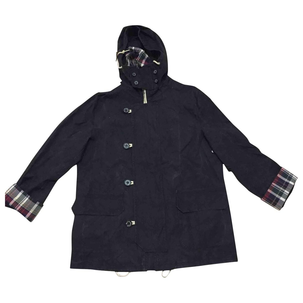 Junya Watanabe - Manteau   pour homme en coton - noir