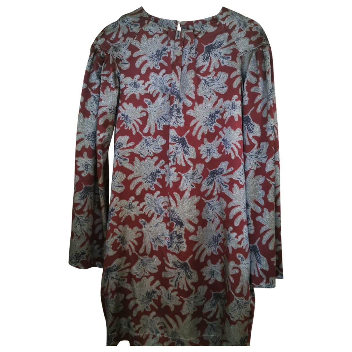Mini vestido de Seda Attic And Barn