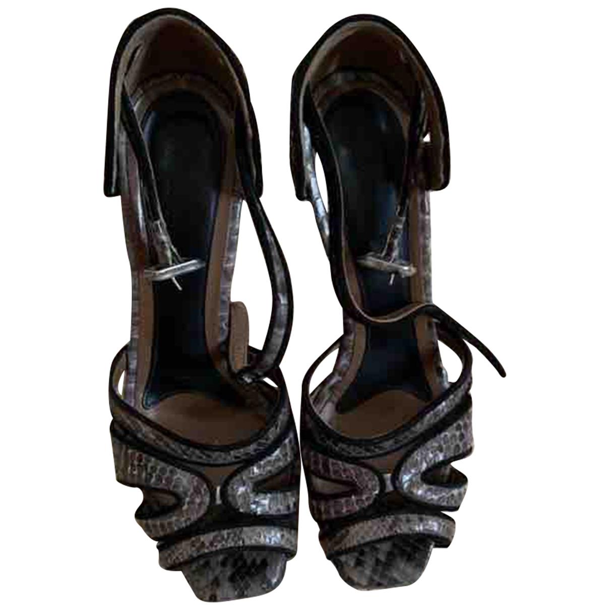 Sandalias de Piton Marni