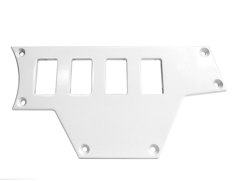 Right Side 4 Switch Plate for Polaris RZR White PRP Seats ODL-217094