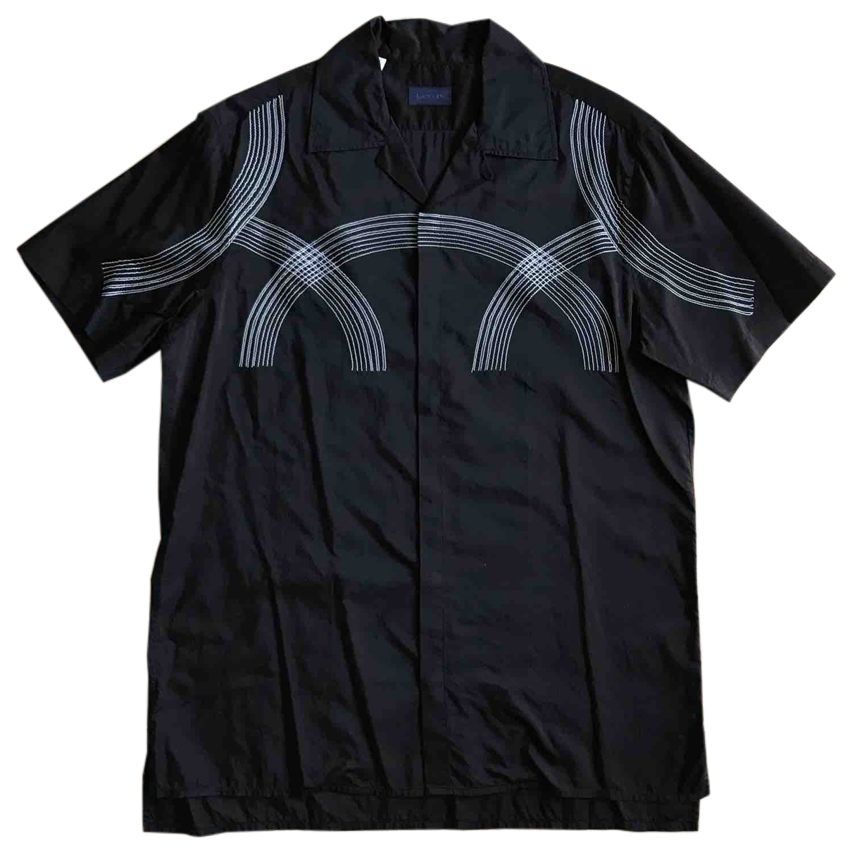 Lanvin - Chemises   pour homme en autre - noir