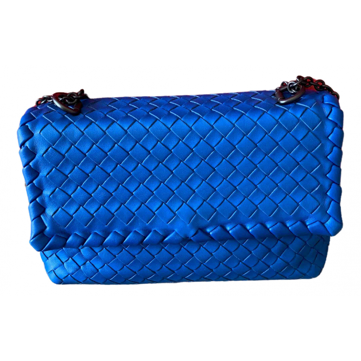 Bottega Veneta Olimpia Blue Leather handbag for Women \N