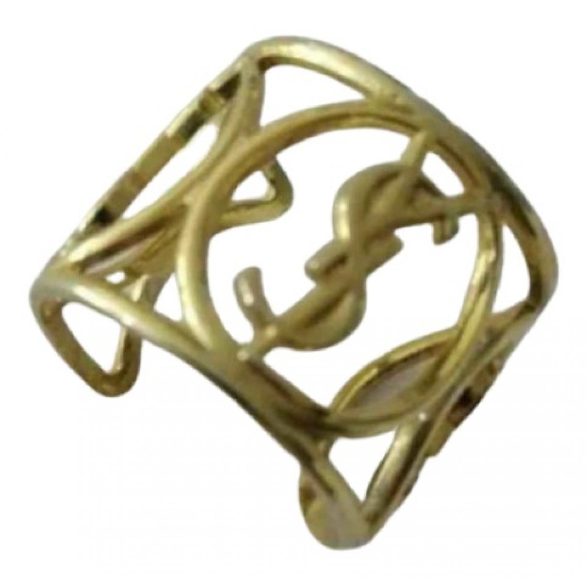 Yves Saint Laurent - Bague   pour femme en metal - dore