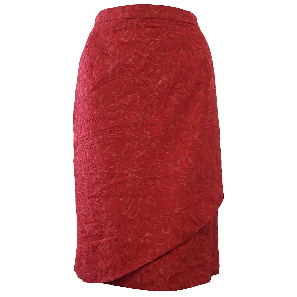 Red Valentino Garavani \N Red skirt for Women 46 IT