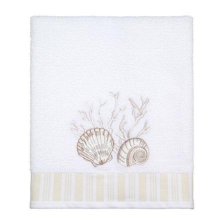 Avanti Destin Bath Towel, One Size , White