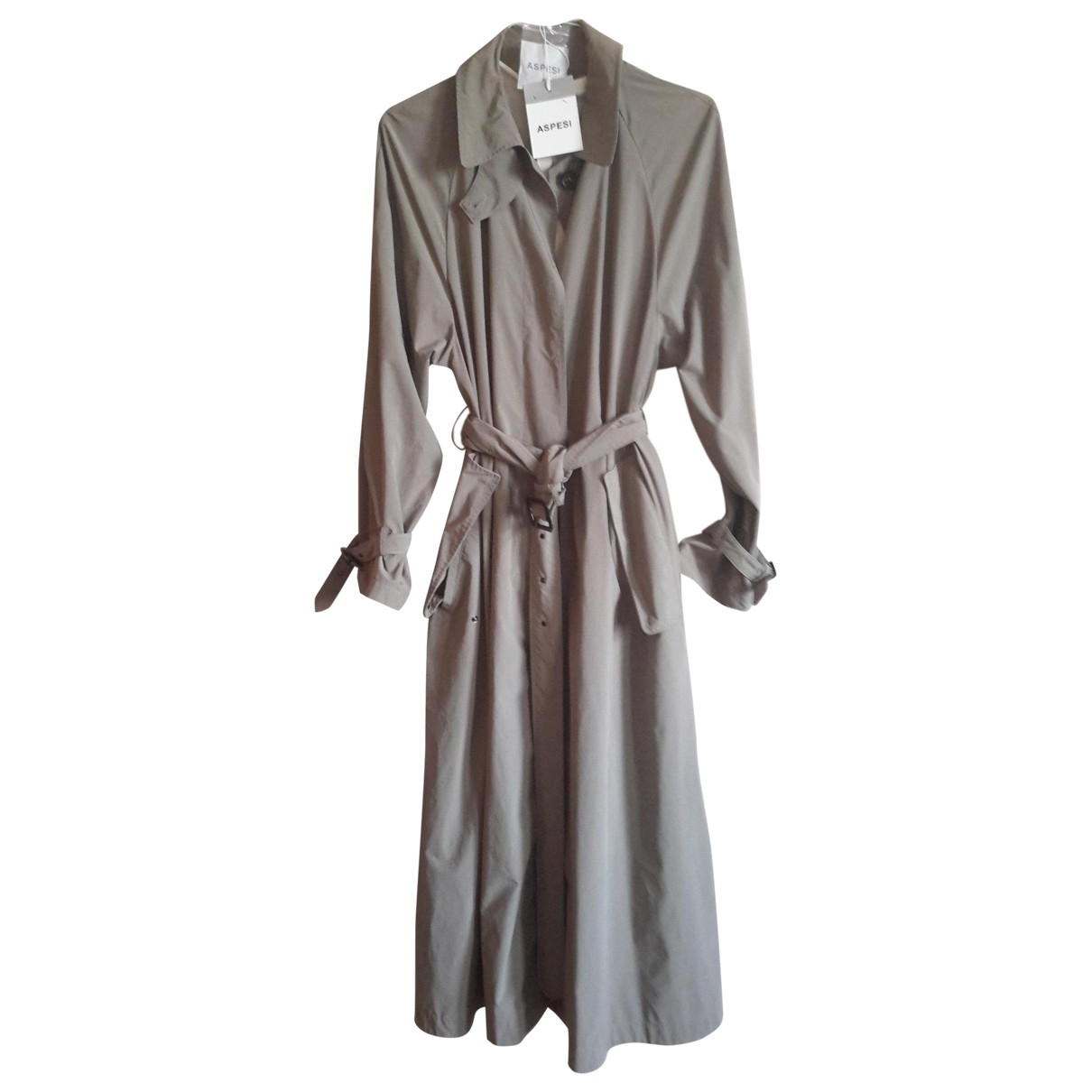 Aspesi \N Green Trench coat for Women 44 IT