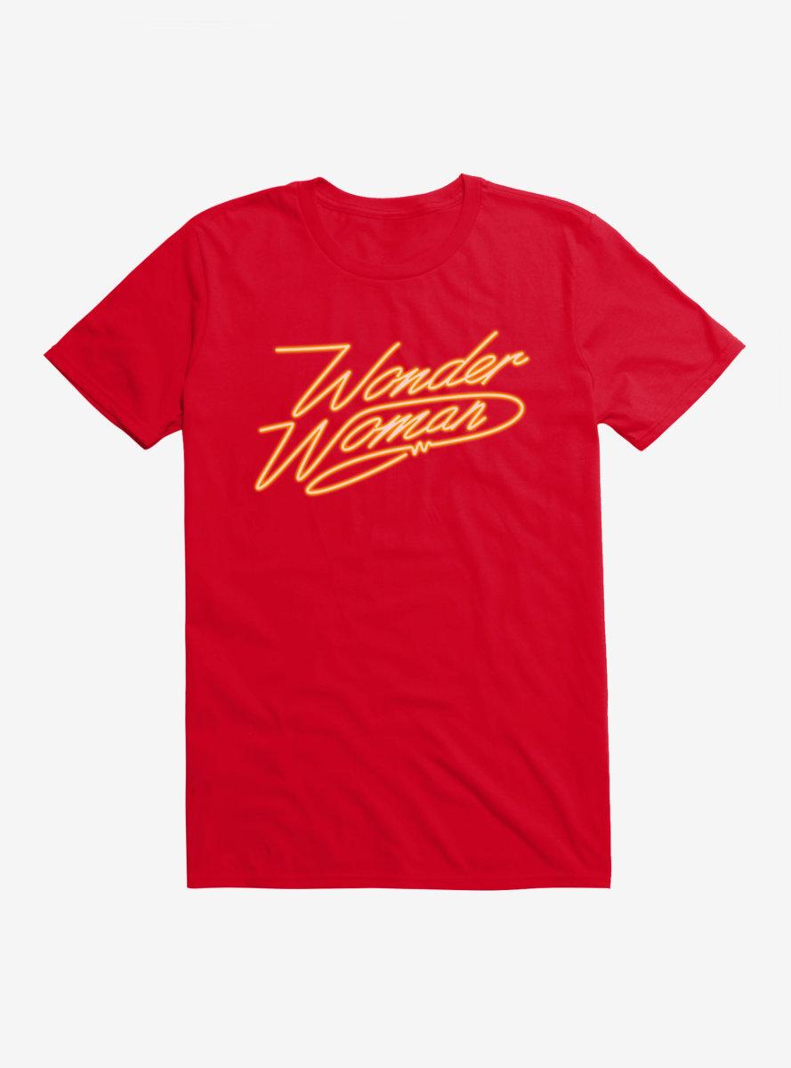 DC Comics Wonder Woman 1984 Golden Lasso Logo T-Shirt