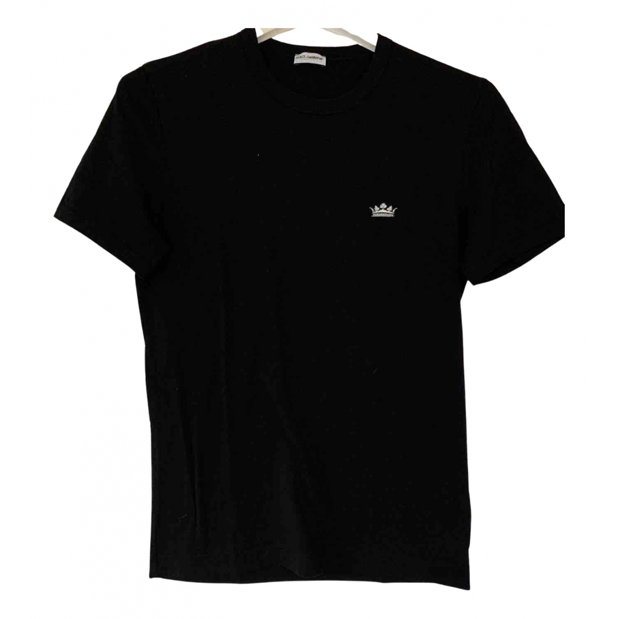 Dolce & Gabbana \N Black Cotton T-shirts for Men S International