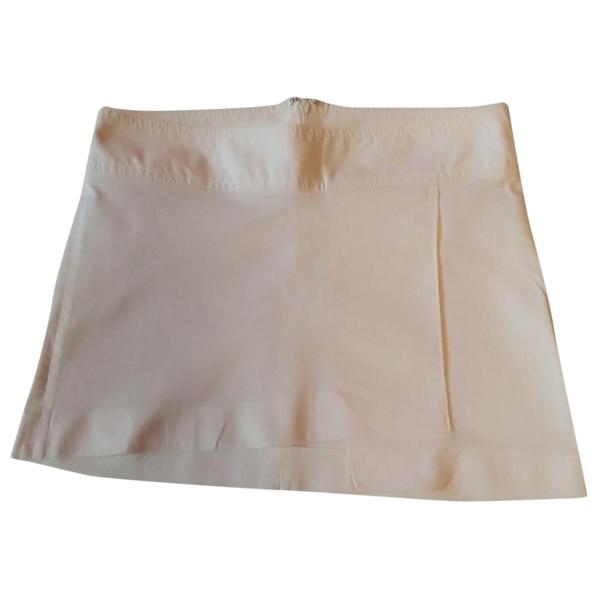 Dolce & Gabbana - Jupe   pour femme en coton - elasthane - blanc