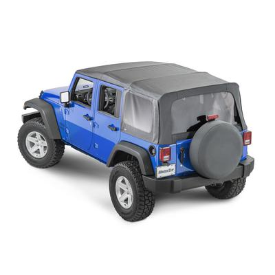 MasterTop Replacement Soft Top with Tinted Windows (Black Diamond) - 15101935