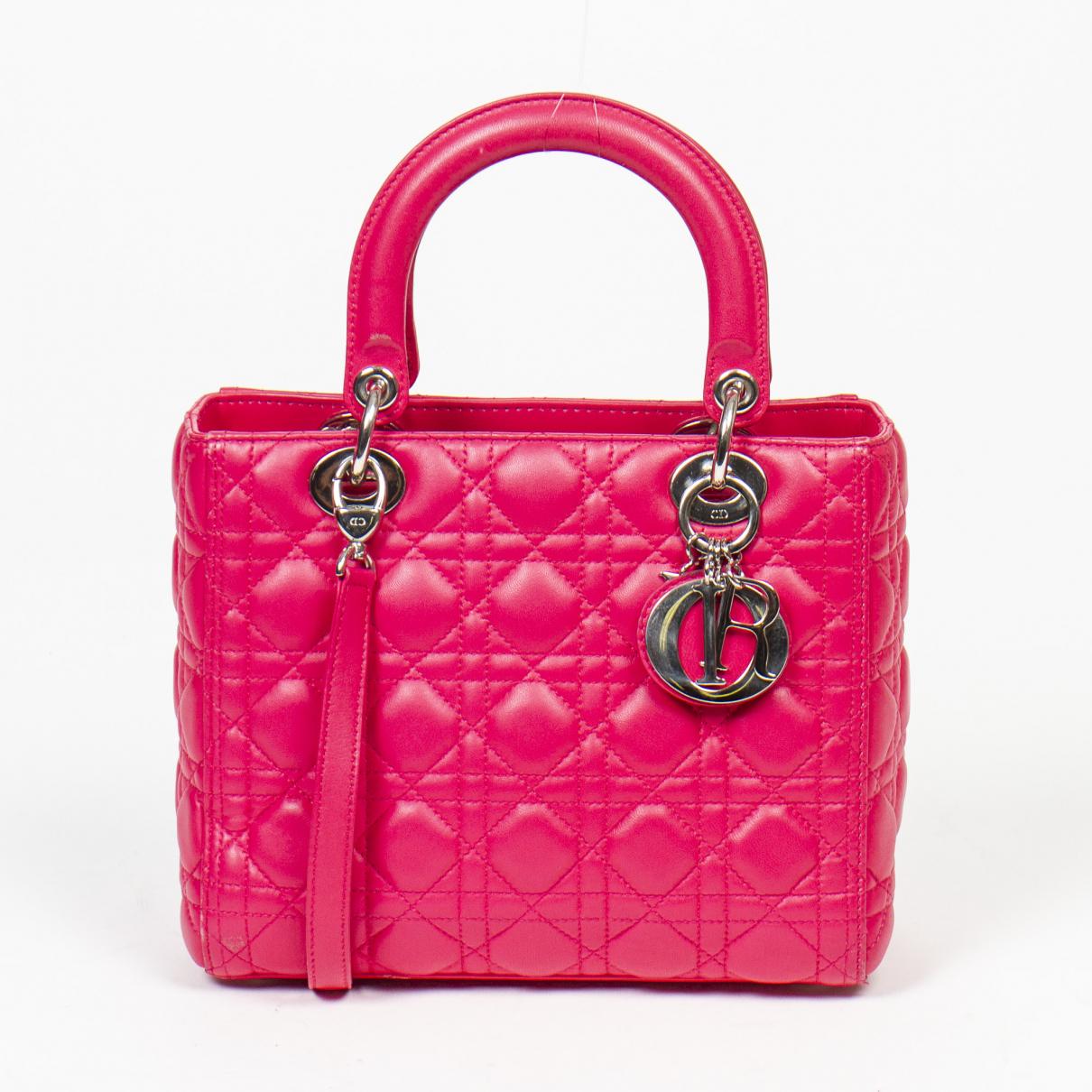 Dior \N Handtasche in  Rosa Leder