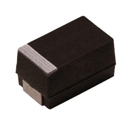 Vishay Tantalum Capacitor 10μF 20V dc MnO2 Solid ±10% Tolerance , TM3 (5)