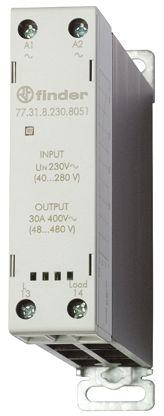 Finder 30 A SPNO Solid State Relay, Zero Crossing, DIN Rail, 480 V ac Maximum Load