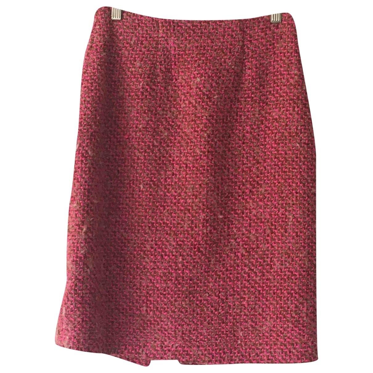 Manoush - Jupe   pour femme en laine - rose