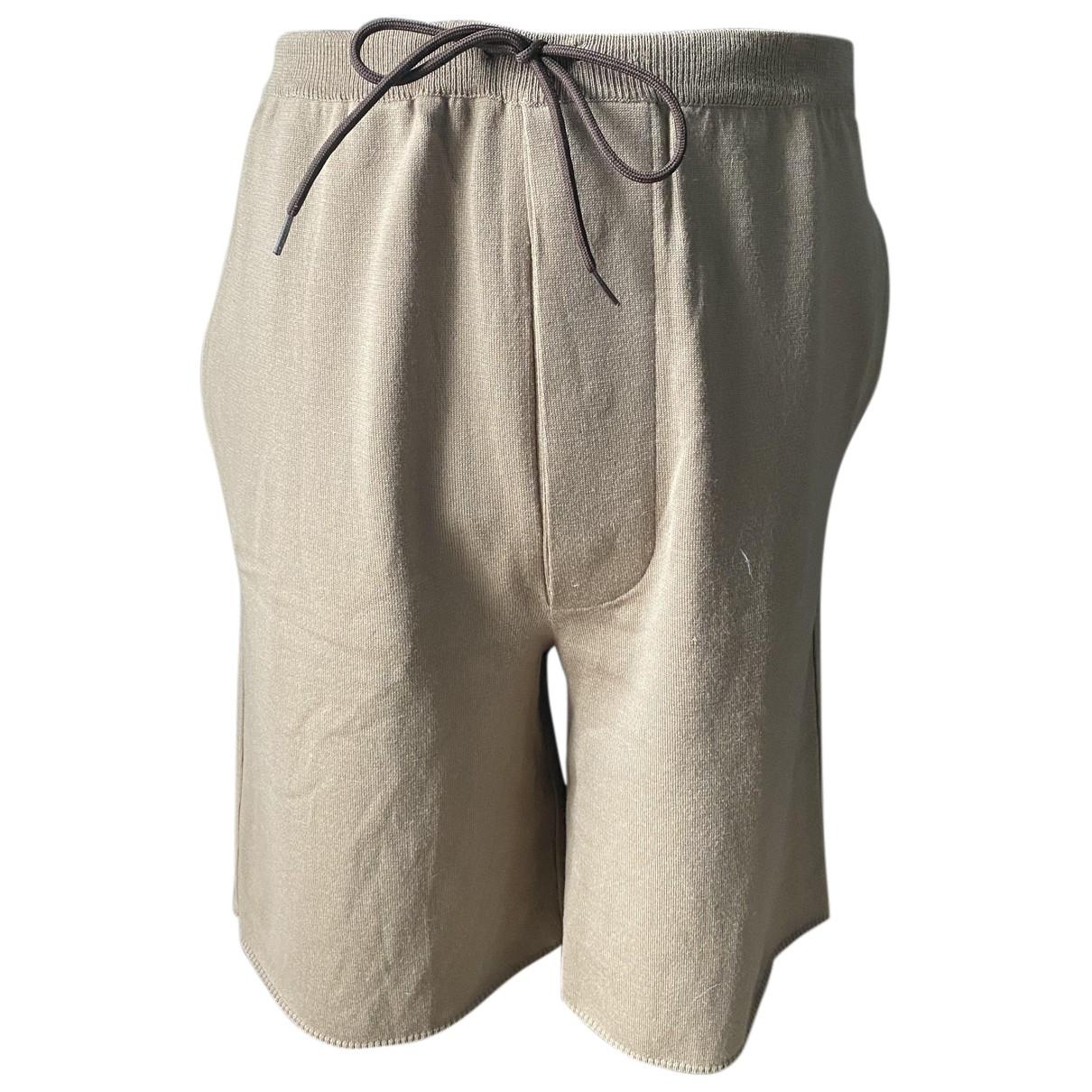 Prada \N Shorts in  Kamel Baumwolle