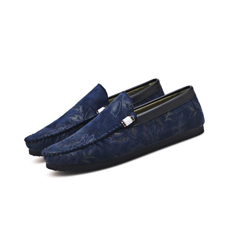 Ericdress Floral Low-Cut Upper Men's Loafers