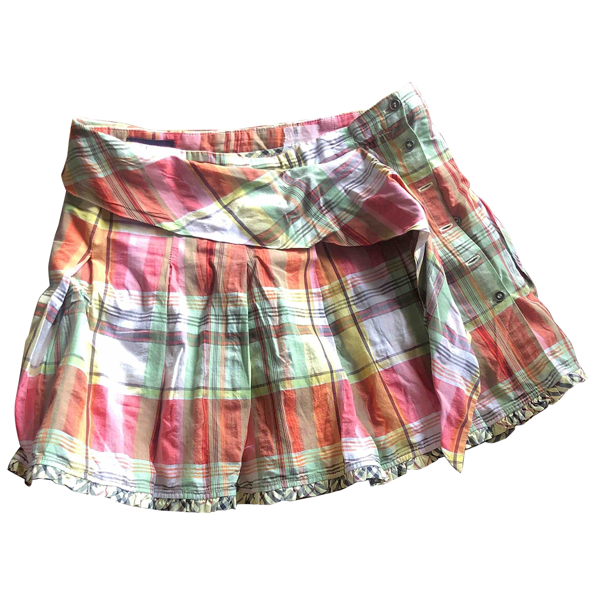 Burberry \N Multicolour Cotton skirt for Women XS International