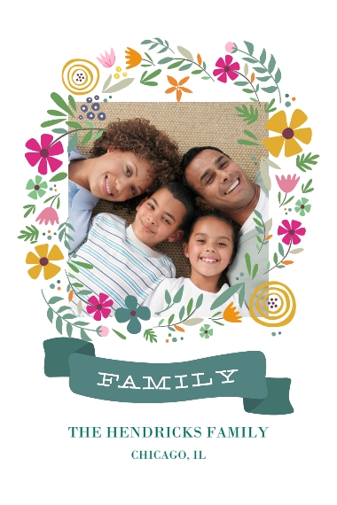 Family + Friends 20x30 Poster(s), Board, Home Décor -Spring Wreath