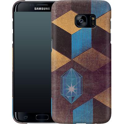 Samsung Galaxy S7 Edge Smartphone Huelle - Cubes Gems von Brent Williams
