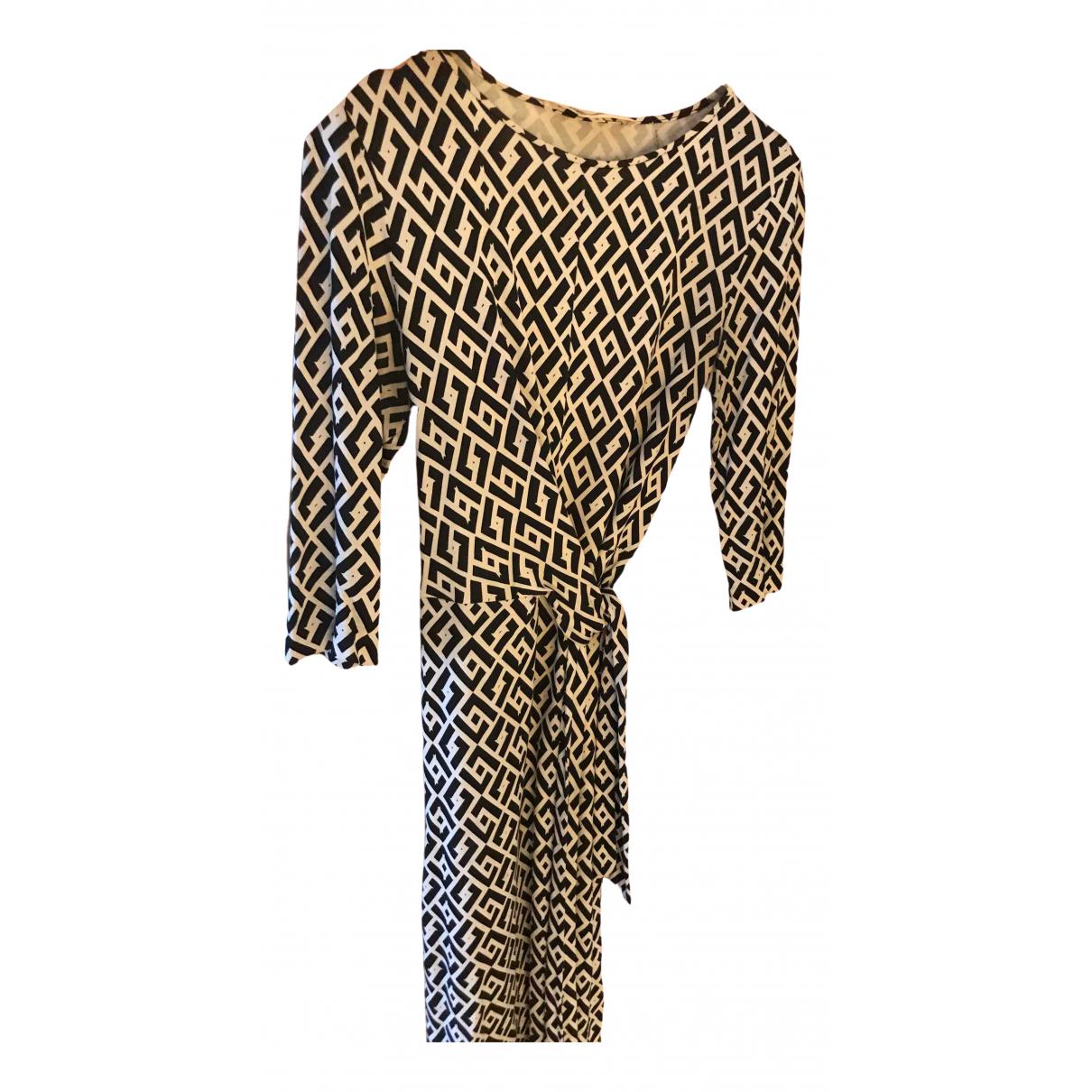 Diane Von Furstenberg \N Black Silk dress for Women 38 FR