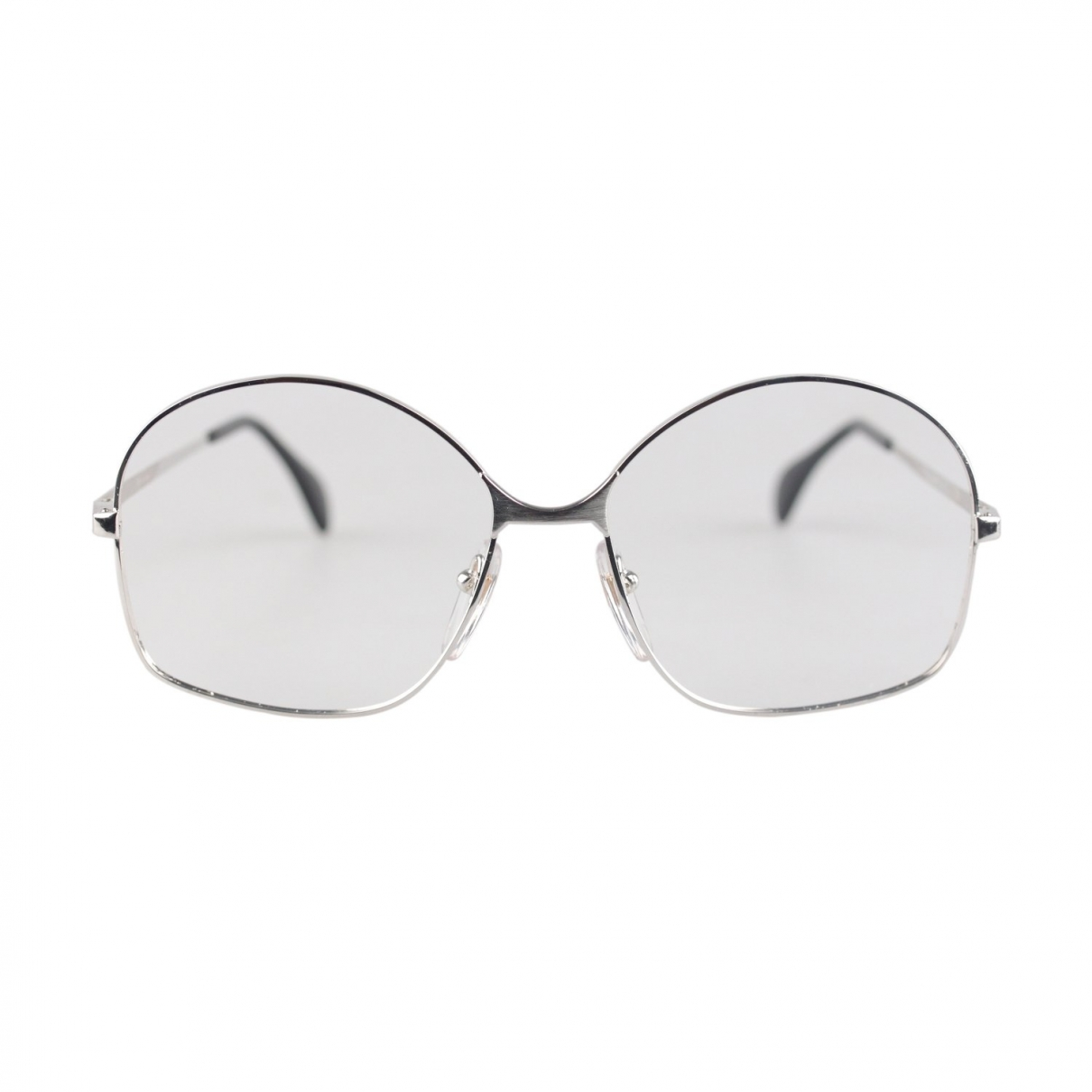 Non Signé / Unsigned \N Gold Metal Sunglasses for Men S International