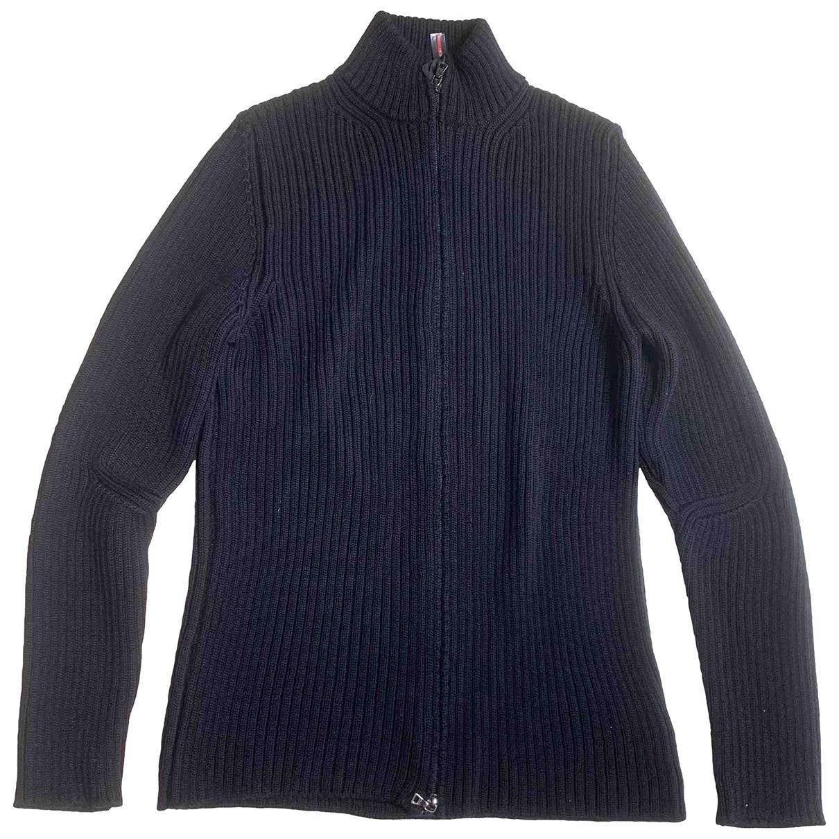 Prada \N Pullover.Westen.Sweatshirts  in  Schwarz Wolle