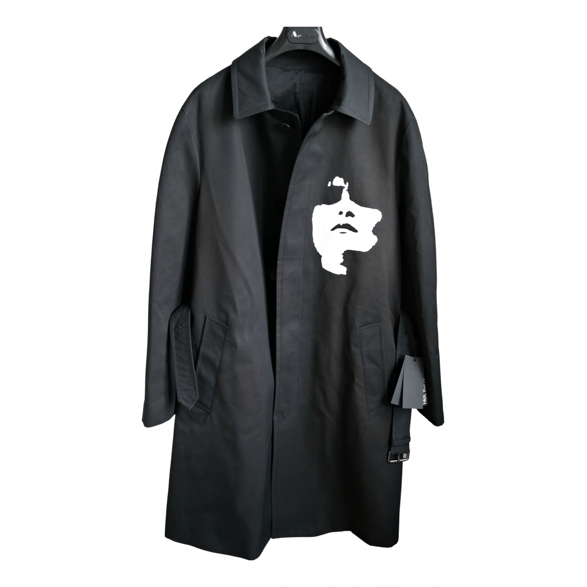 Neil Barrett - Manteau   pour homme - noir