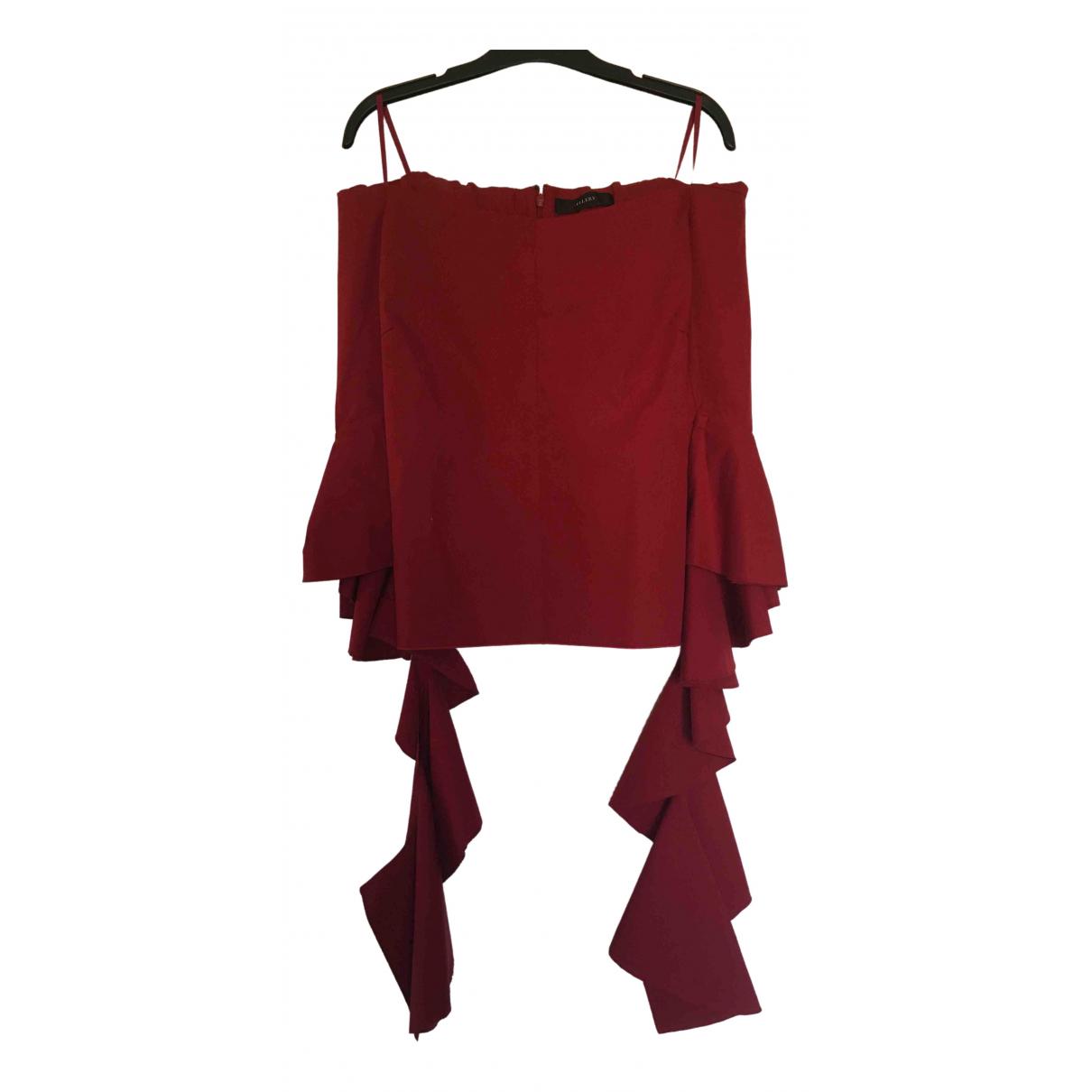 Ellery \N Top in  Rot Baumwolle