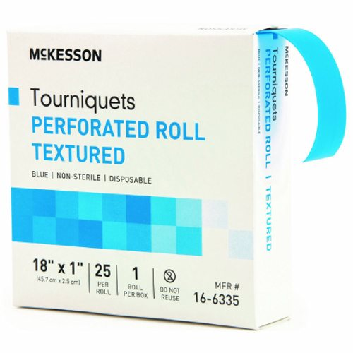 Tourniquet Band on Roll 18 Inch - 25 Count by McKesson