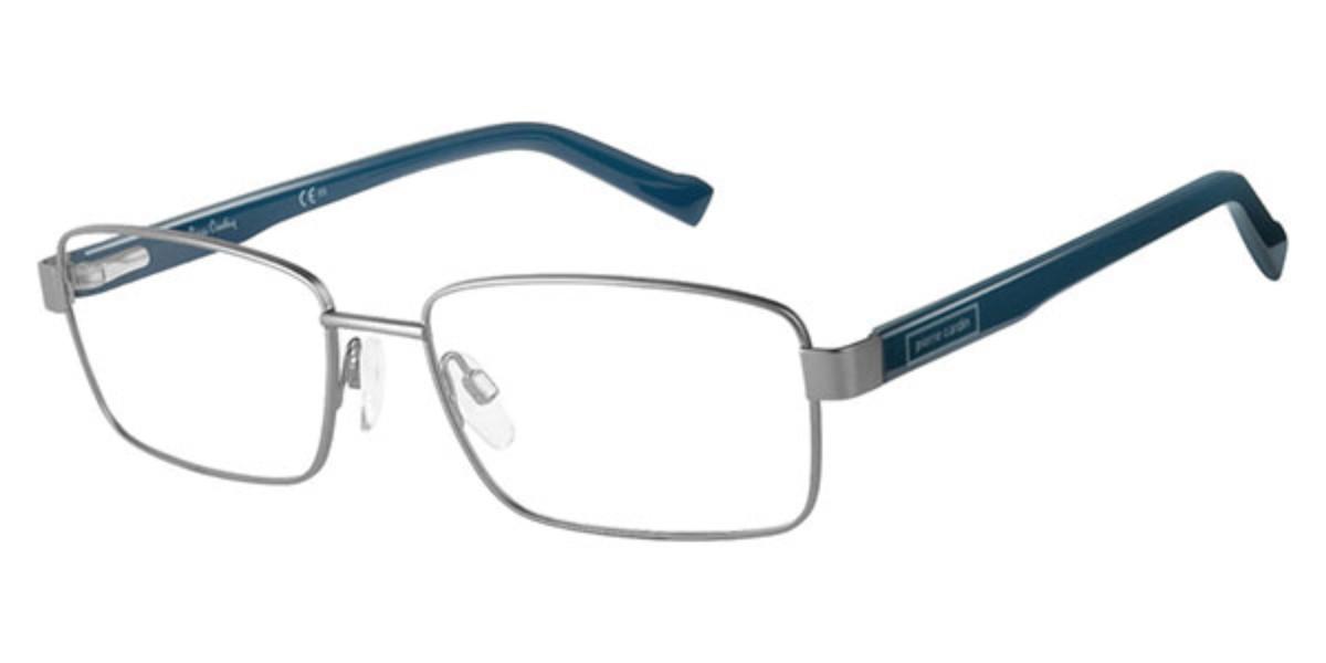 Pierre Cardin P.C. 6202 V6D Men's Glasses Silver Size 54 - Free Lenses - HSA/FSA Insurance - Blue Light Block Available
