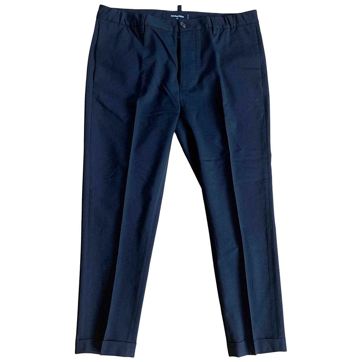 Dsquared2 - Pantalon   pour homme en coton - noir