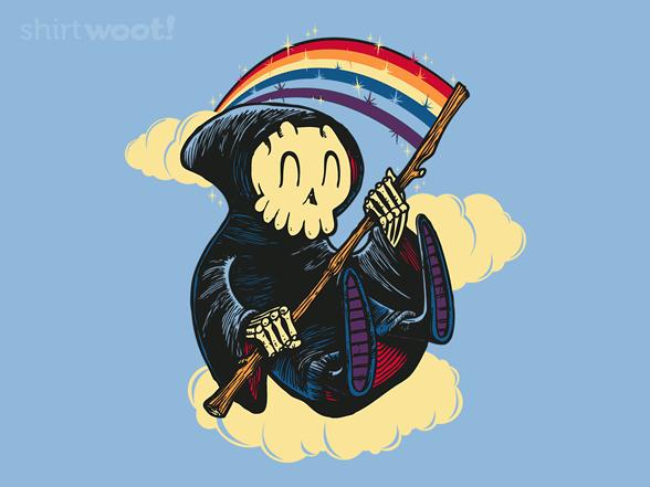 Death's Bright Scythe T Shirt