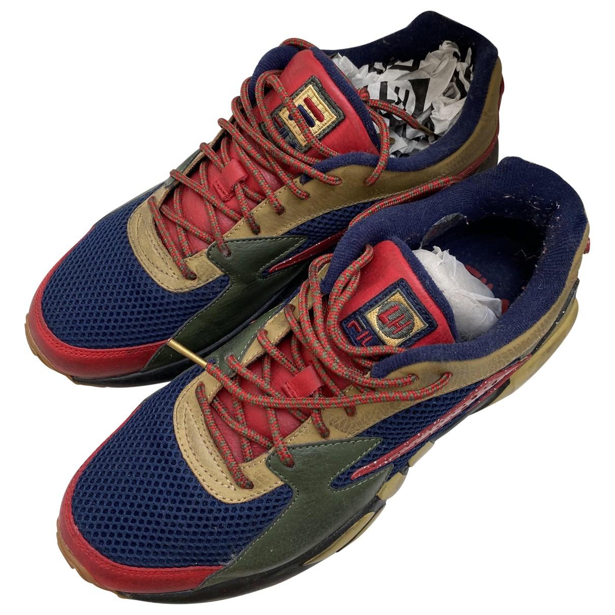 Fila \N Sneakers in  Bunt Leinen