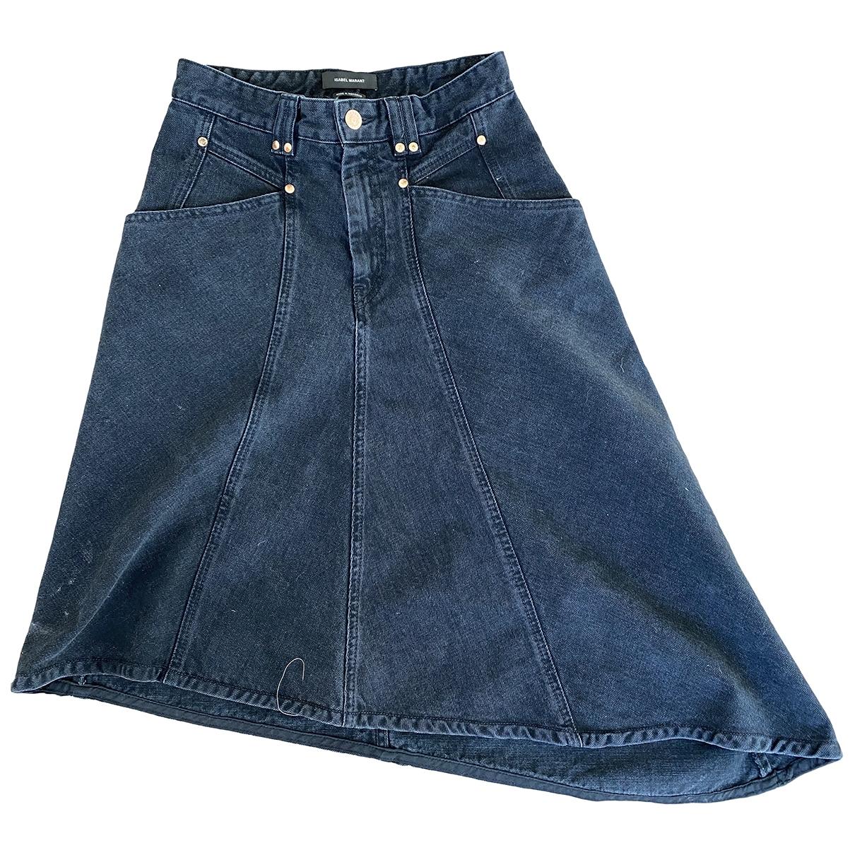 Isabel Marant \N Rocke in  Schwarz Denim - Jeans