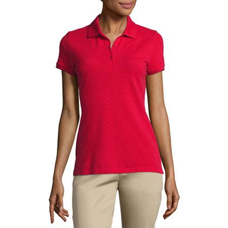 Arizona Short-Sleeve Polo Shirt, X-small , Red