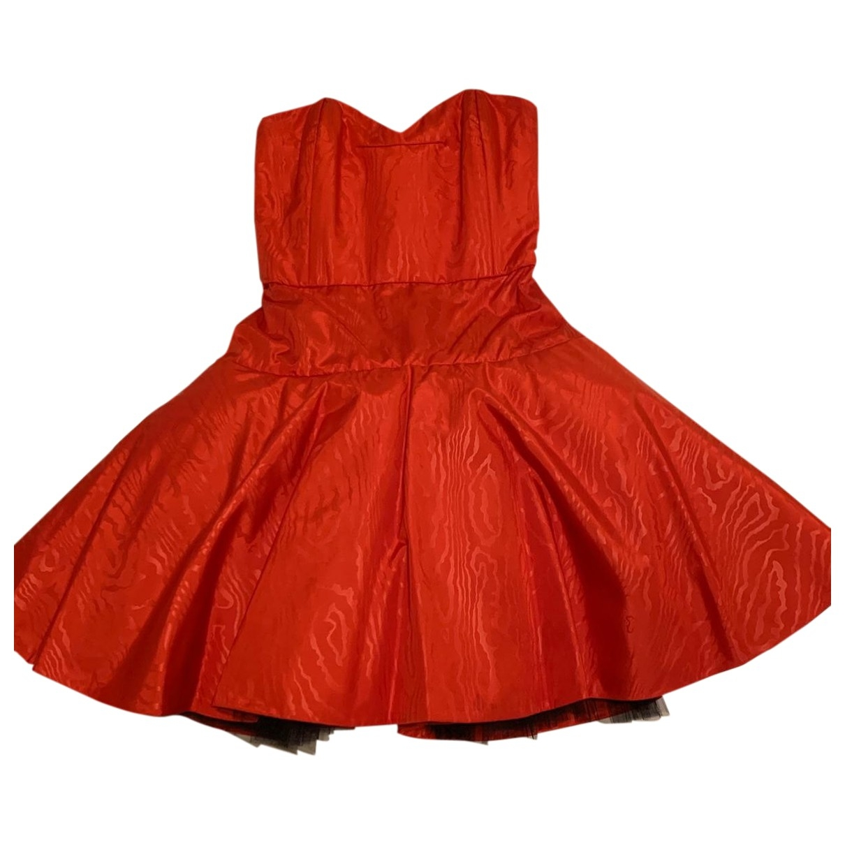 Non Signe / Unsigned \N Kleid in  Rot Synthetik