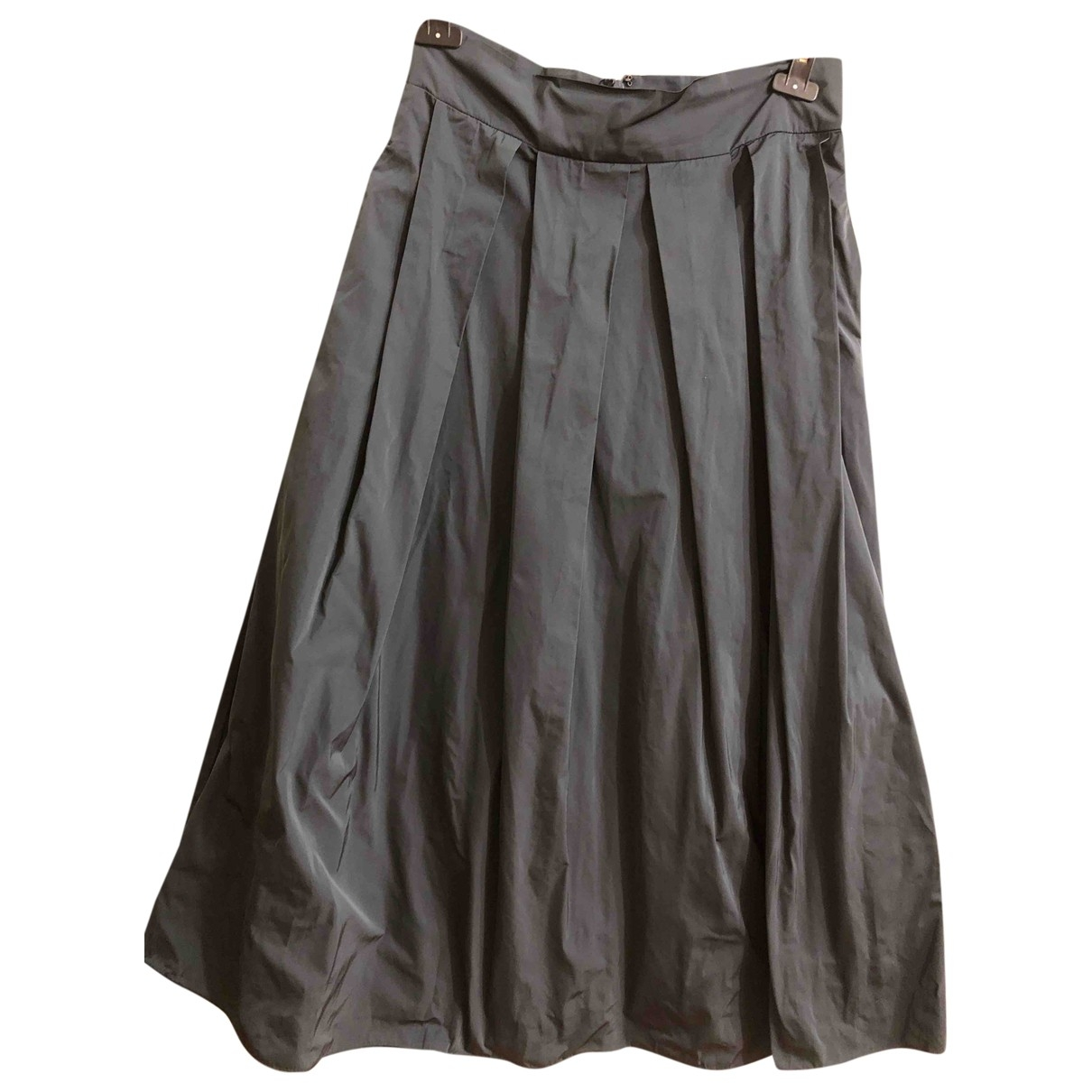 Max Mara 's \N Anthracite skirt for Women 46 IT