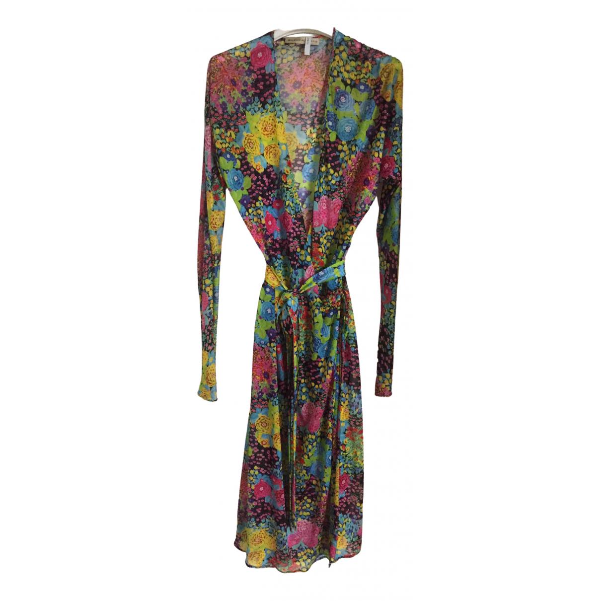 Balenciaga \N Kleid in  Bunt Synthetik