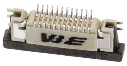 Wurth Elektronik 687 0.5mm Pitch 10 Way Straight SMT FPC Connector (5)