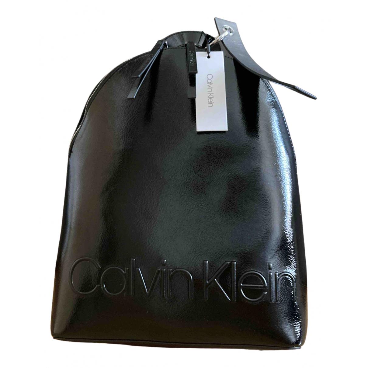 Calvin Klein - Sac a dos   pour femme - noir