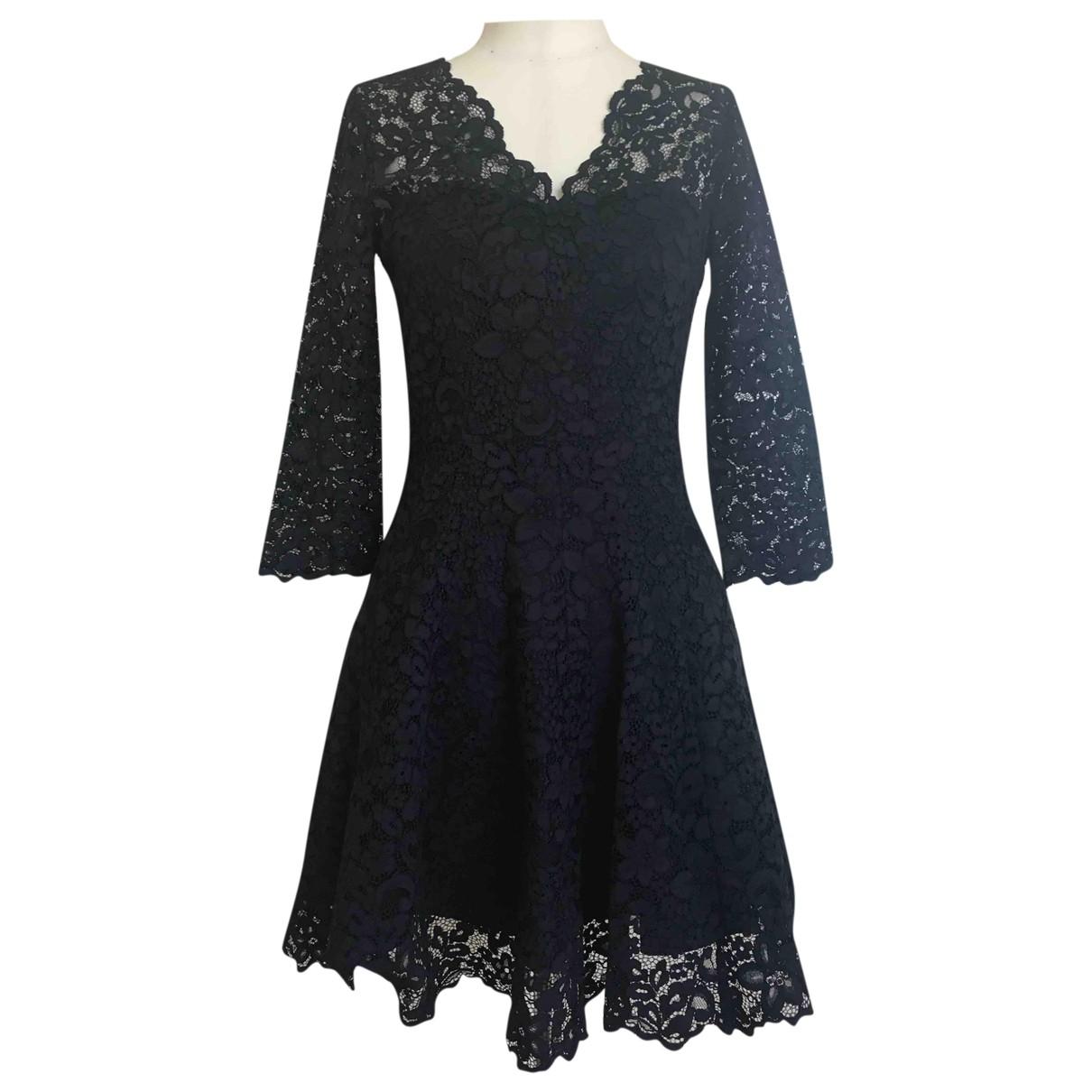 & Other Stories \N Kleid in  Schwarz Baumwolle